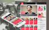 Modèle Moto CMS HTML  pour des chaîne de télévision New Screenshots BIG
