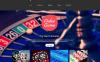 "Modello Siti Web Responsive #52652 ""Web Casino"" New Screenshots BIG"