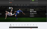 Responsive S-Bet - Online Betting Multipage HTML Web Sitesi Şablonu