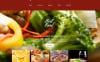 Responsive Website template over Café en restaurant New Screenshots BIG