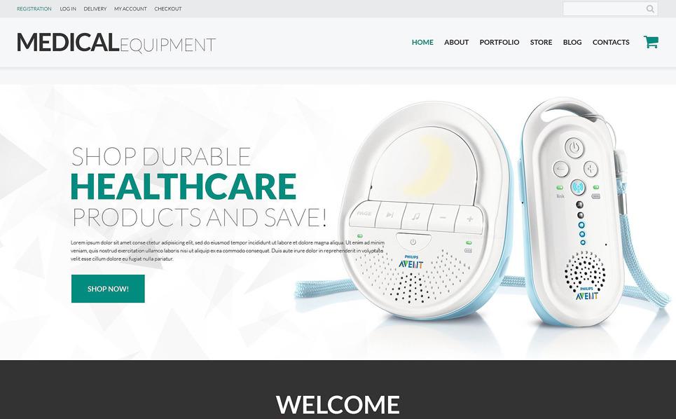 Responsive WooCommerce Thema over Medische Apparatuur New Screenshots BIG