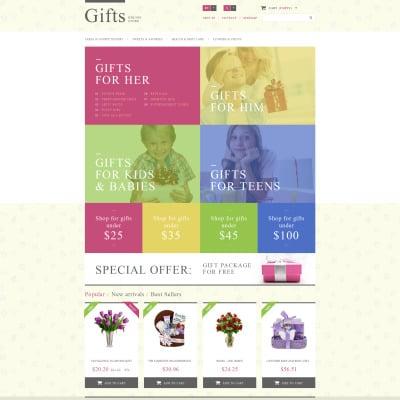 Gifts Store Responsive PrestaShop Sablon