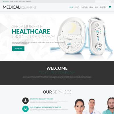 Medical Equipment Responsive WooCommerce Sablon
