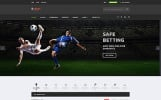 """S-Bet - Online Betting Multipage HTML"" Responsive Website template"
