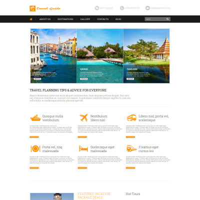 Temas WordPress para Blogs de Viajes | Temas WordPress para Guías de ...
