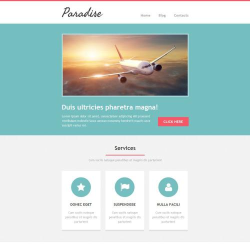 Paradise - Newsletter Template