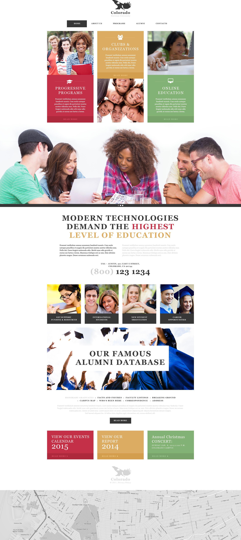 University Muse Template
