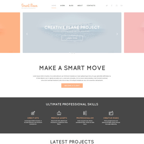 Smart Move - WordPress Template based on Bootstrap