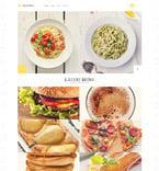 Cafe & Restaurant WordPress Template 52704