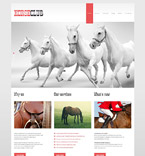 Animals & Pets WordPress Template 52705