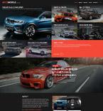 Cars Website  Template 52711