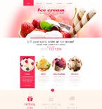 Food & Drink Website  Template 52713