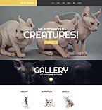 Animals & Pets Website  Template 52715