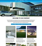 Architecture Website  Template 52718