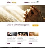Religious WordPress Template 52722