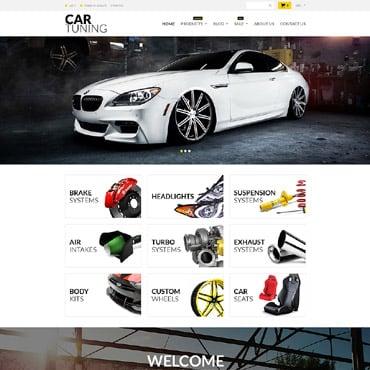 Купить  пофессиональные Shopify шаблоны. Купить шаблон #52725 и создать сайт.