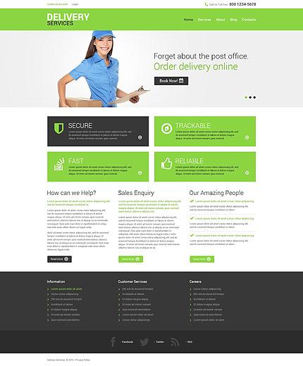 Drupal Template 52734 Main Page Screenshot