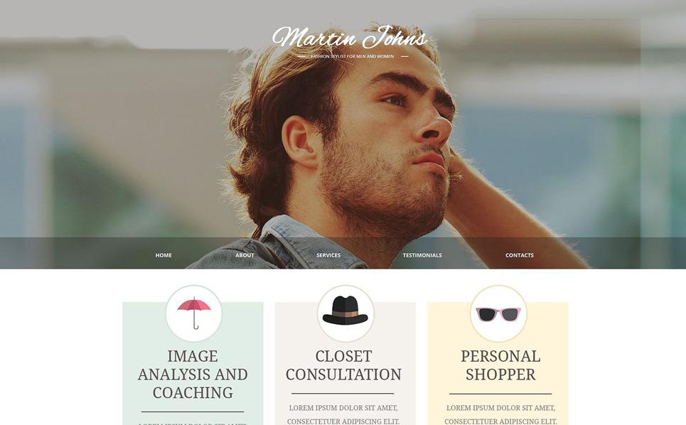 Responzivní Šablona webových stránek na téma Móda New Screenshots BIG