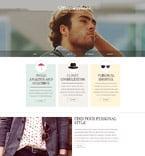 Fashion Website  Template 52735