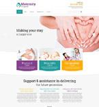 Medical Website  Template 52736