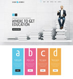 Education Website  Template 52738