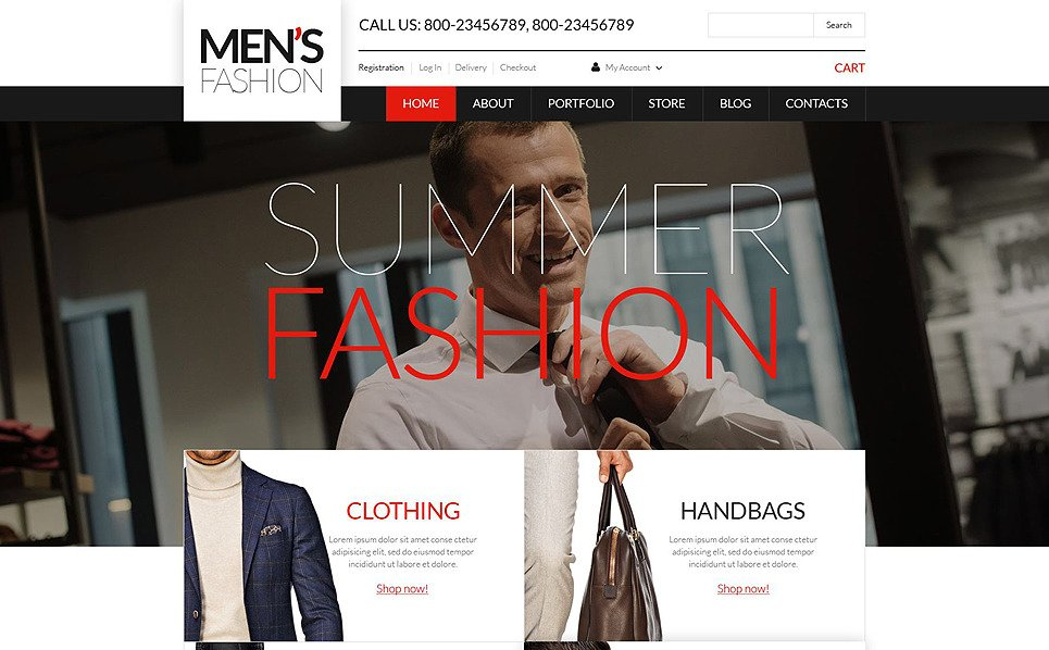 Responsive Moda Mağazası  Woocommerce Teması New Screenshots BIG