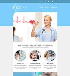 Medical Newsletter  Template 52745
