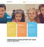 Education Website  Template 52747