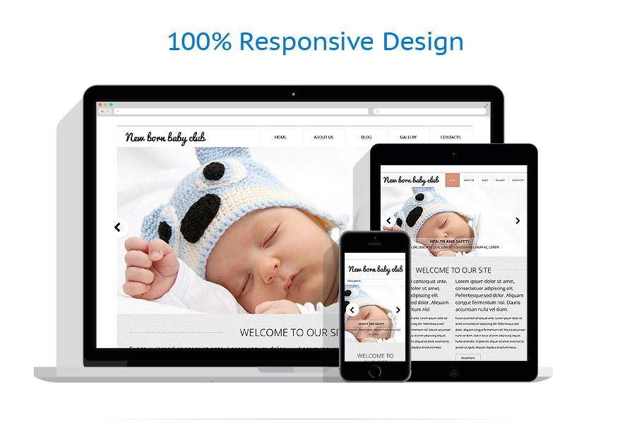 Modèles HTML5 Famille #52750