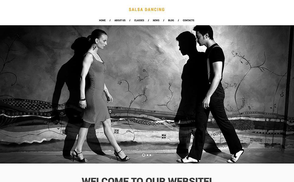 Responsive Website template over Dansstudio  New Screenshots BIG