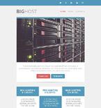 Web Hosting Newsletter  Template 52752