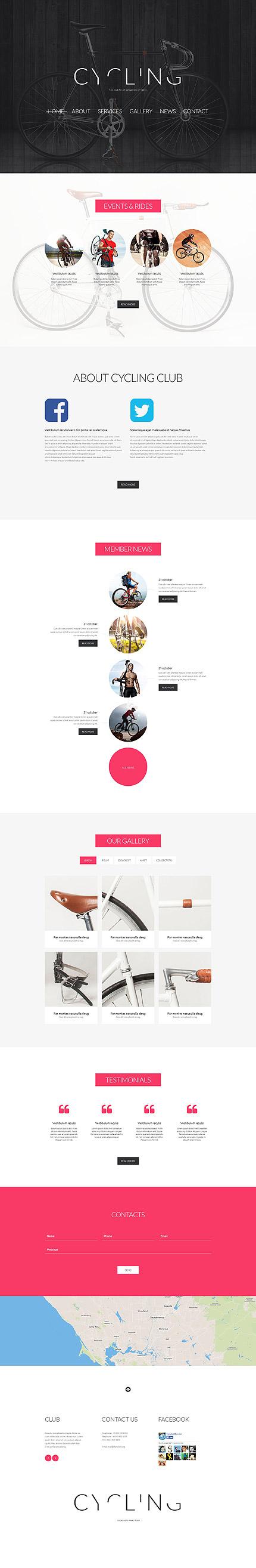 Joomla Theme/Template 52757 Main Page Screenshot