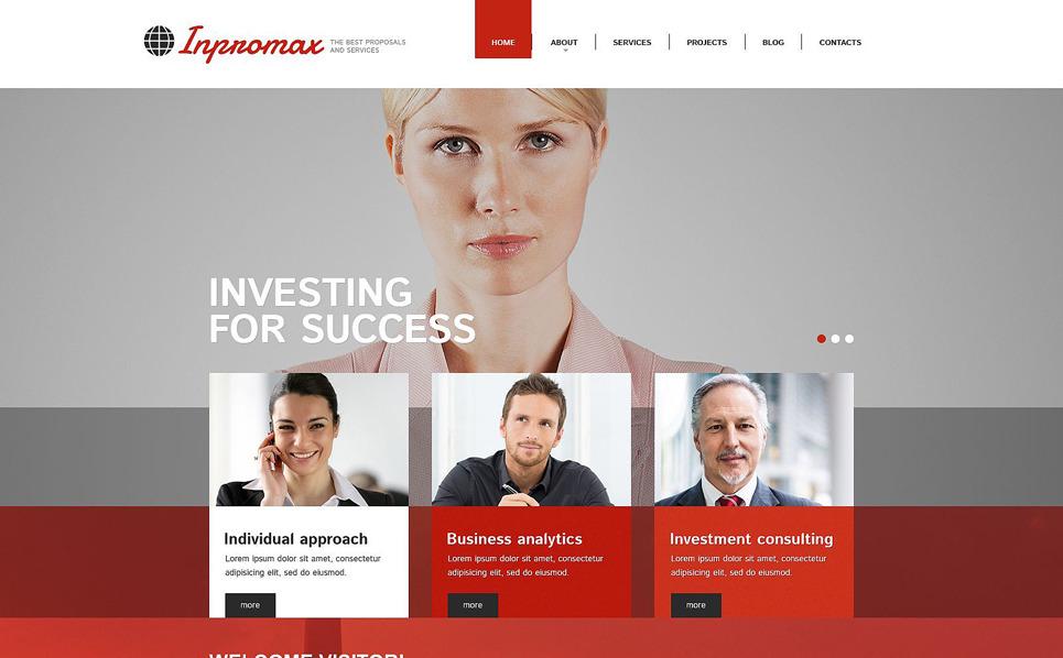 Responsywny szablon Drupal #52762 na temat: biznes i usługi New Screenshots BIG