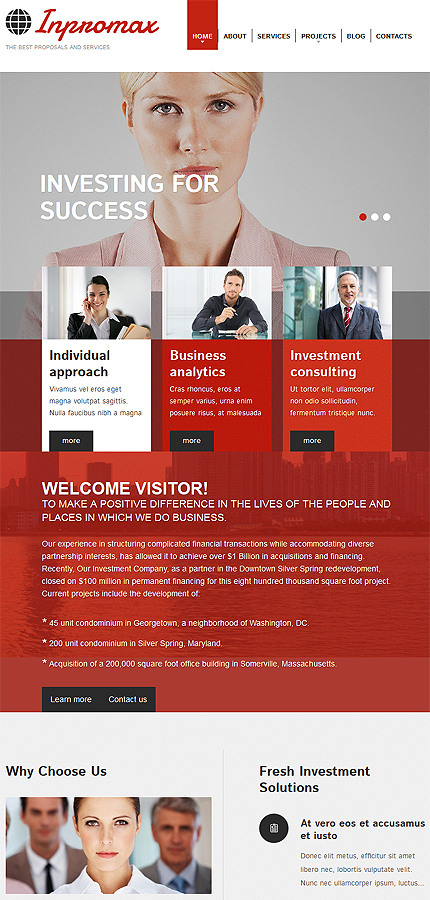 Drupal Template 52762 Main Page Screenshot