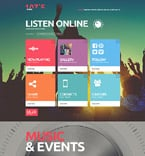Entertainment Joomla  Template 52769