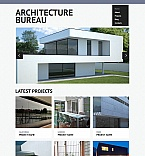 Architecture Moto CMS HTML  Template 52777