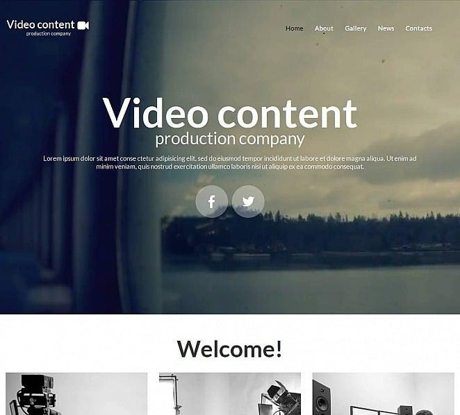 Template Moto CMS HTML para Sites de Laboratorio de Vídeo №52788 New Screenshots BIG