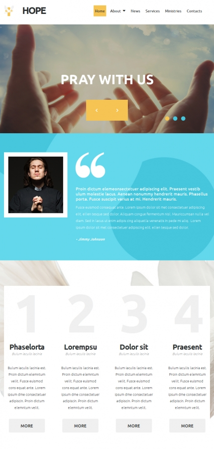 ADOBE Photoshop Template 52796 Home Page Screenshot
