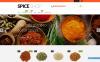 Адаптивний Shopify шаблон на тему магазин спецій New Screenshots BIG