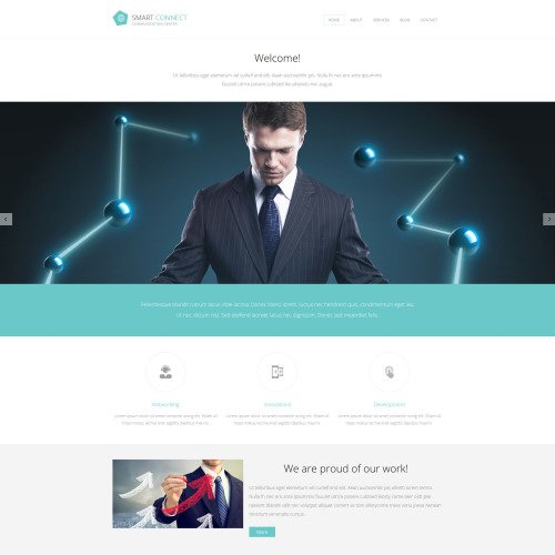 Smart Connect - Joomla! Template based on Bootstrap