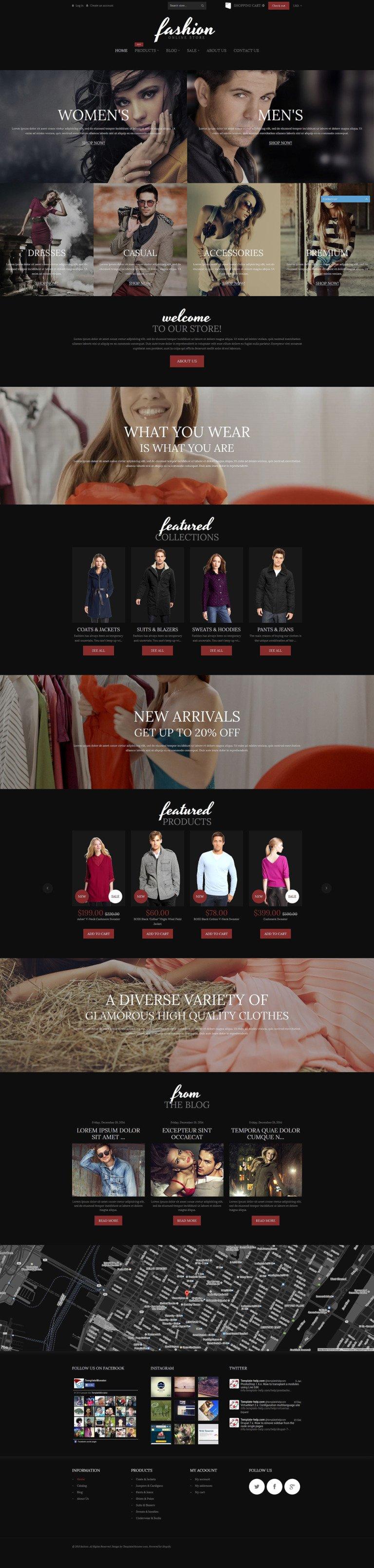 Fashion Online Store Shopify Theme New Screenshots BIG
