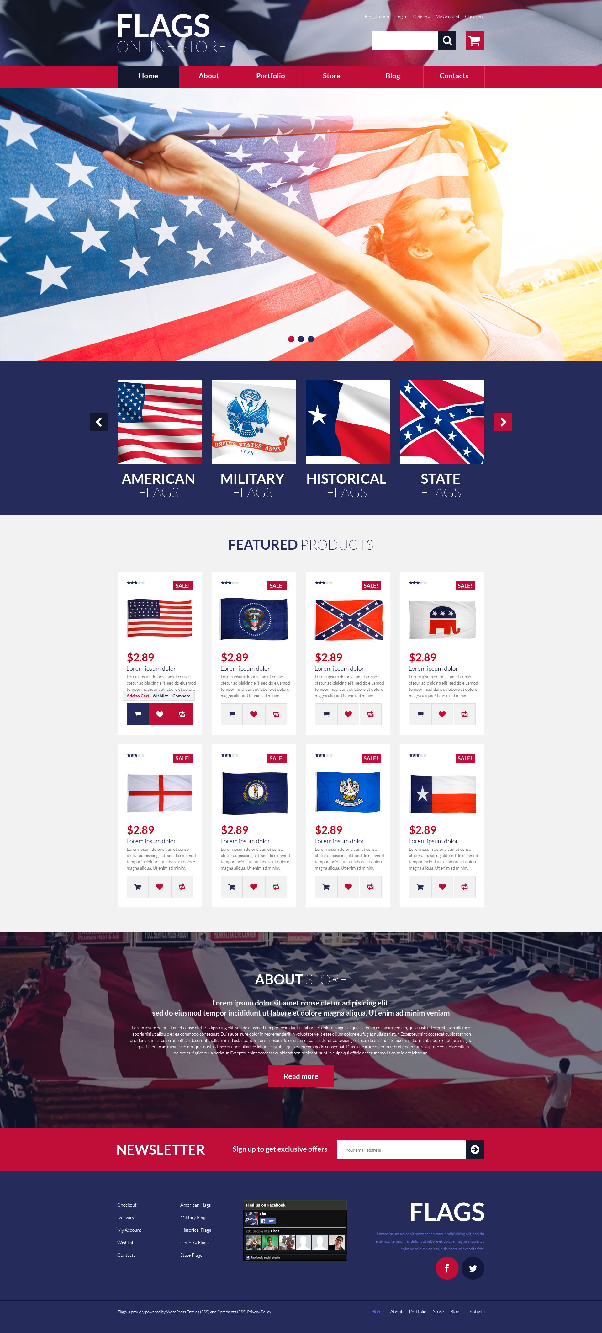 Flags Store WooCommerce Theme