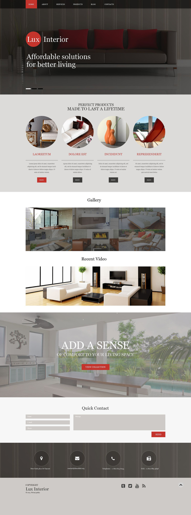 Furniture Muse Template New Screenshots BIG