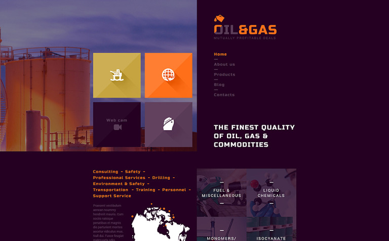 Industrial joomla template gas and oil trading joomla template new screenshots big toneelgroepblik Images