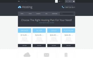 Hosting Services Provider PrestaShop Theme
