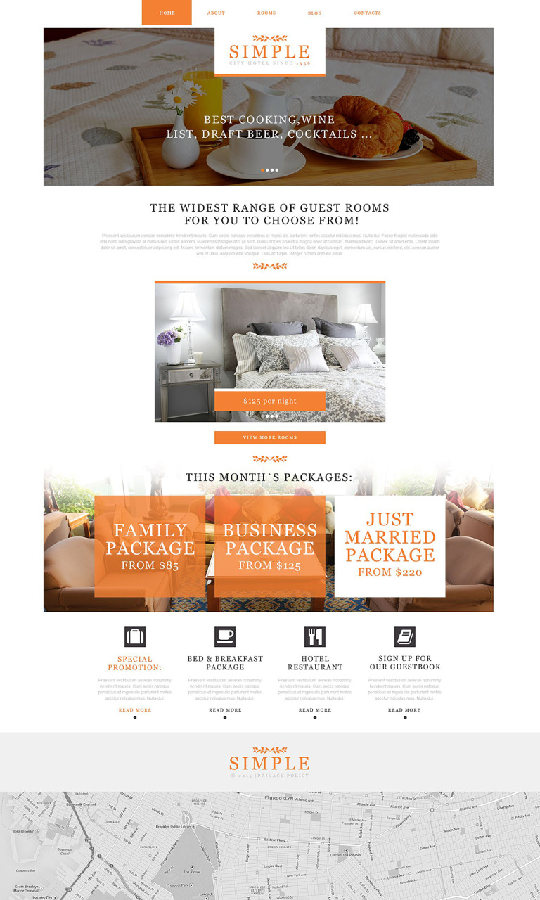 Hotels Muse Template New Screenshots BIG
