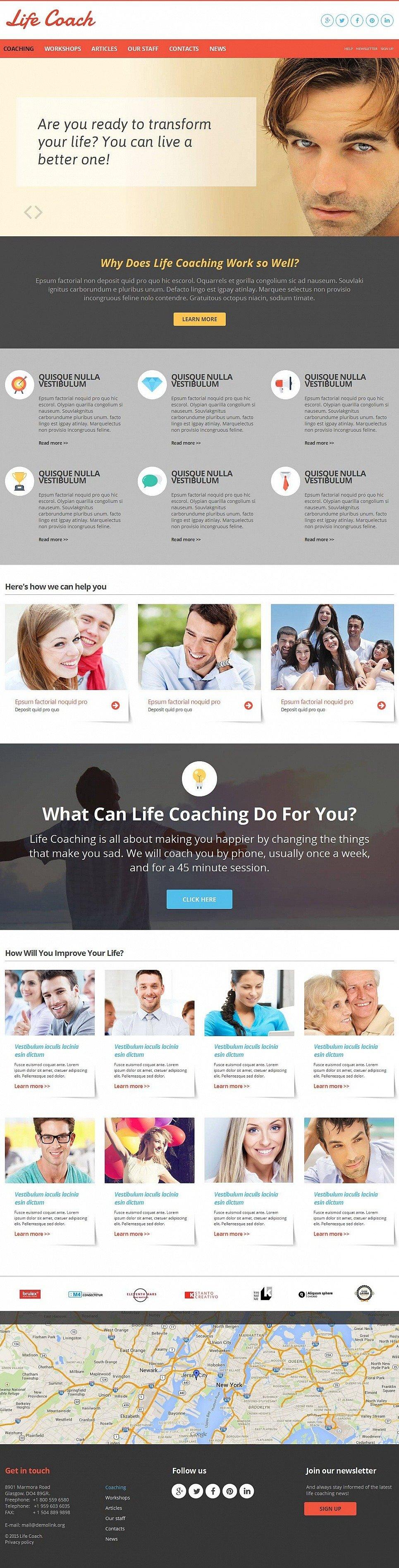 Life Coach Moto CMS HTML Template New Screenshots BIG