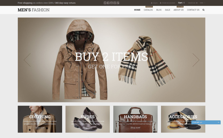 17 Retail Bootstrap Themes & Templates