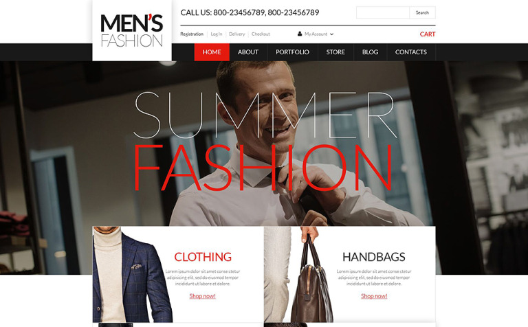 fb485ac8a6a Men's Corporate Wear WooCommerce Theme