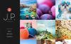 Prémium Fényképész portfóliók témakörű  Moto CMS HTML sablon New Screenshots BIG
